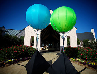 Oklahoma Airstar Lighting Balloons